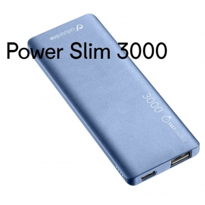Cellularline Powerbank Slim 3000 mAh bedrukken