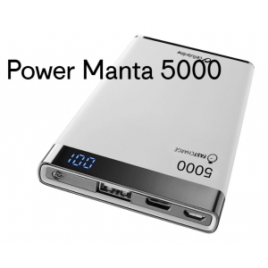 Cellularline Powerbank Manta 5000 mAh bedrukken