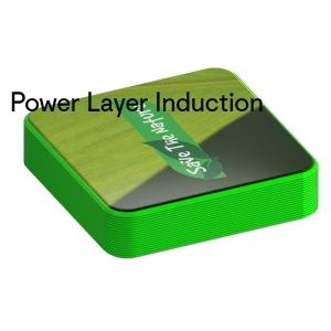 Draadloze oplader - powerbank Layer Induction Led
