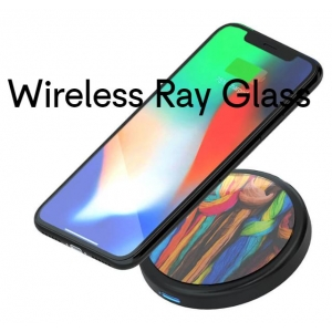 Draadloze oplader Wireless Ray Glass